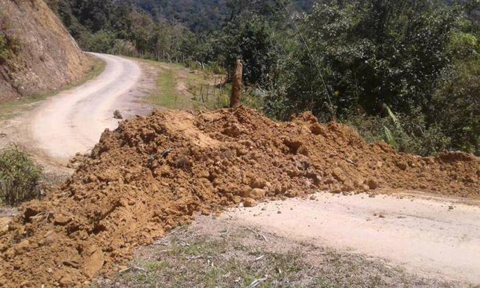 Akses Bakelalan Ditutup Tanah Pemerintah Kecamatan Keluarkan Tanjung Selor Ancaman