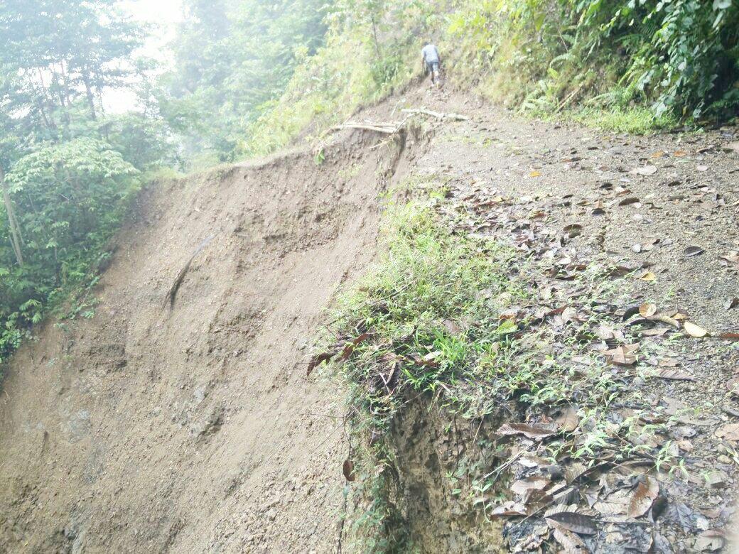Jalan Nasional Terputus Warga Perbatasan Kecamatan Mentarang Inding 60 Tokoh