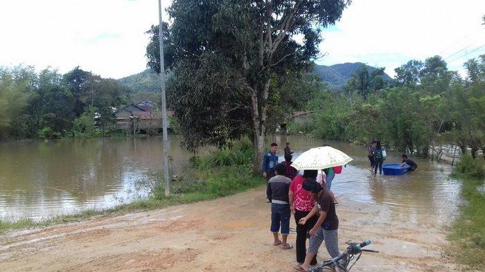 Krayan Banjir Panglima Tni Kapolri Tidak Bisa Kunjungi Pos Long
