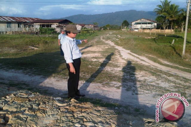 Masyarakat Krayan Minta Pengaspalan Jalan Long Bawan Layu Kab Nunukan