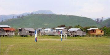 Serbi Kecamatan Krayan Lapangan Olah Raga Long Bawan Kab Nunukan