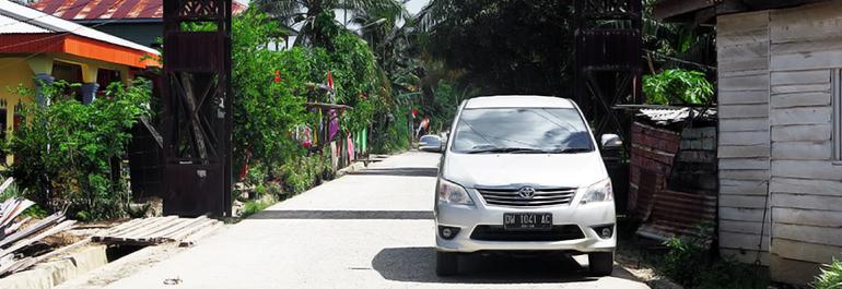 August 2017 Tunawisma Malaysia Seberang Parit Tugu Perbatasan Garuda Perkasa