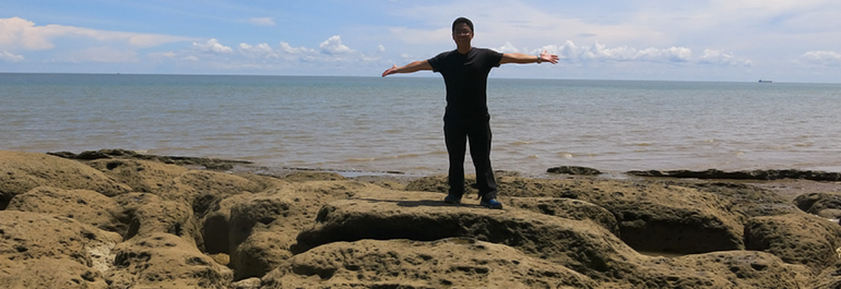 August 2017 Tunawisma Mimpi Wisata Batu Lamampu Tugu Perbatasan Garuda