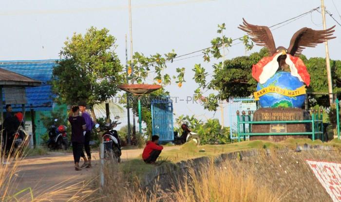 Dukung Sebatik Jadi Otoritas Bulungan Post Ikon Negara Tugu Garuda
