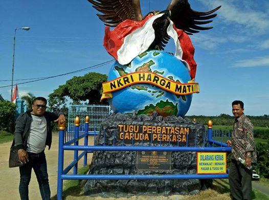 Kabarkaltara Id Tour Kabarkaltim Perbatasan Tugu Garuda Perkasa Sebatik Kab