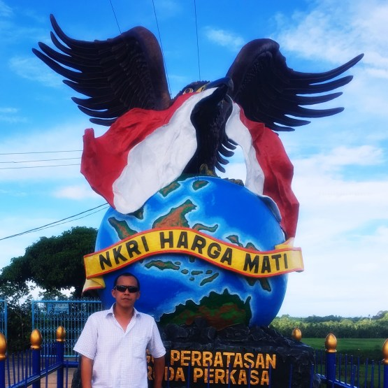 Tour Duty Hari Kedua Kabupaten Nunukan Provinsi Kalimantan Tugu Garuda