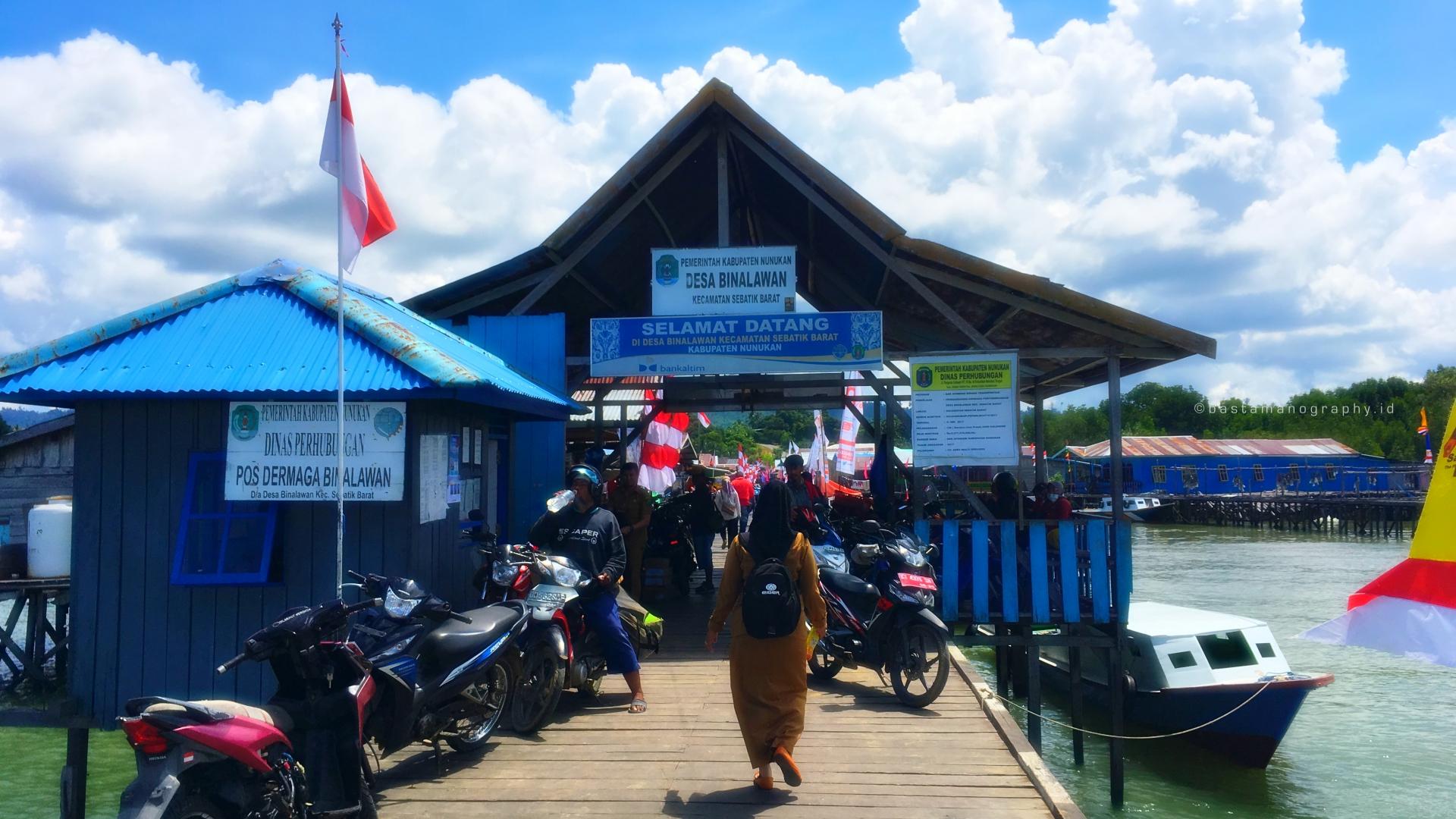 Tour Duty Hari Kedua Kabupaten Nunukan Provinsi Kalimantan Utara Tugu