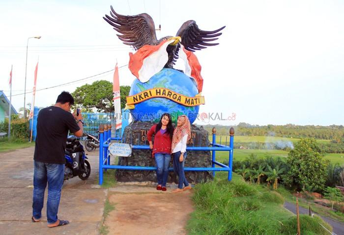 Tugu Garuda Perkasa Simbol Kedaulatan Perbatasan Bulungan Post Spot Wajib