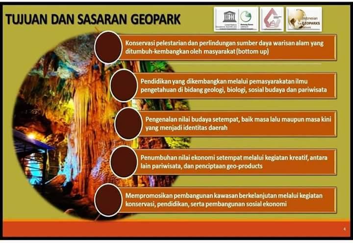Etalase Geopark Gunung Sewu Geo Area Pacitan Artikel Kab
