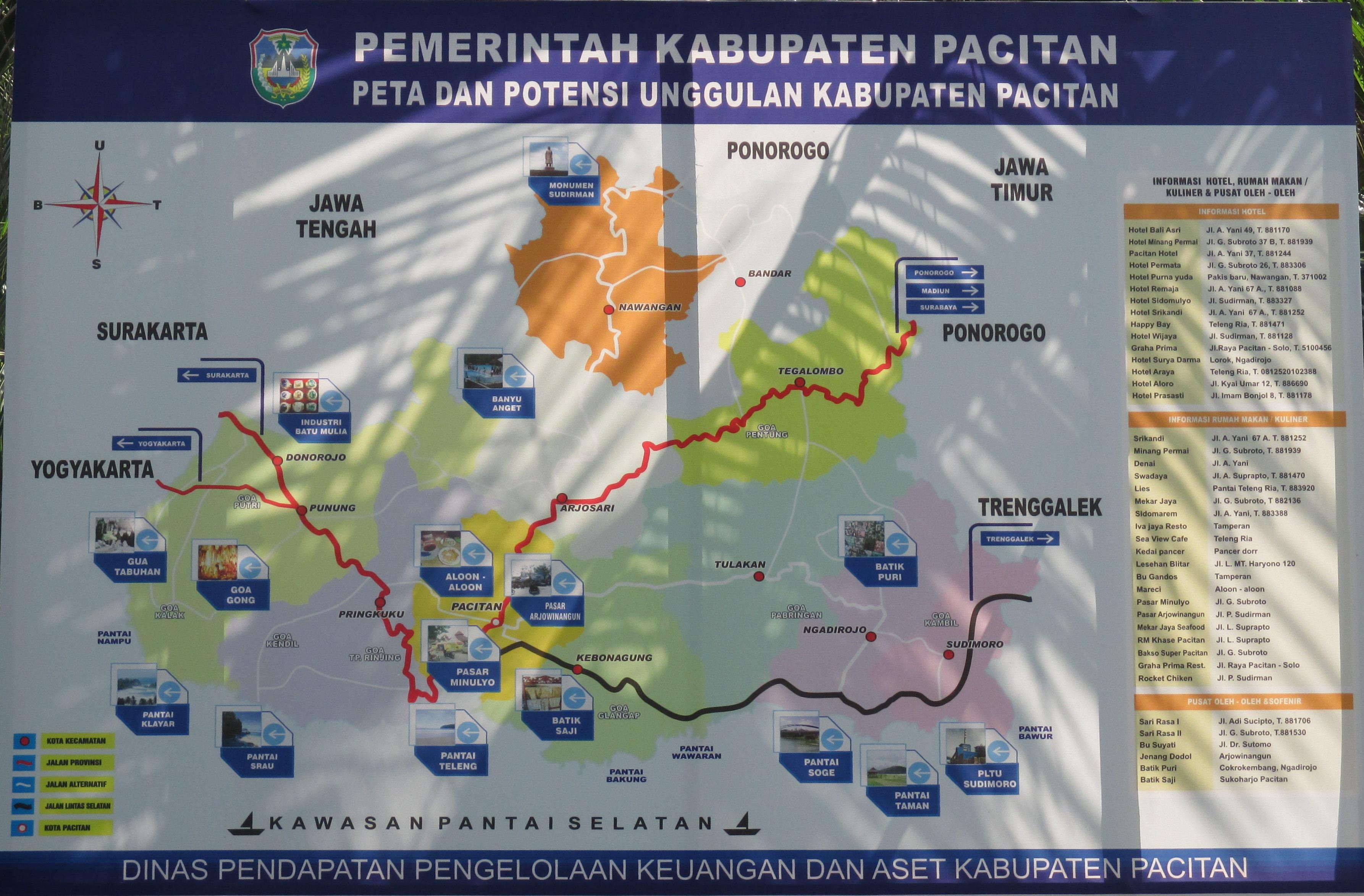 Mudik Pacitan Energi Dunia Poster 2014 Etalase Geopark Gunung Sewu