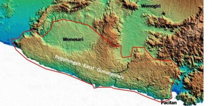 Sah Gunung Sewu Dinobatkan Sebagai Geopark Dunia Traveling Yuk Kawasan