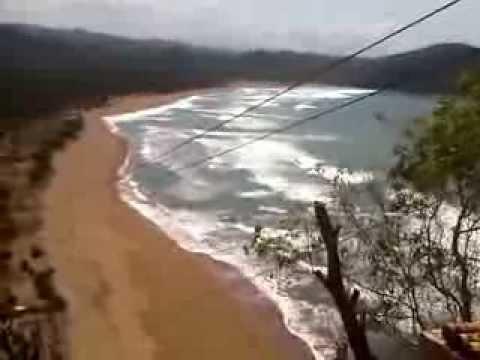 Flying Fox Pantai Taman Beach Ngadirojo Pacitan Jawa Timur Kab