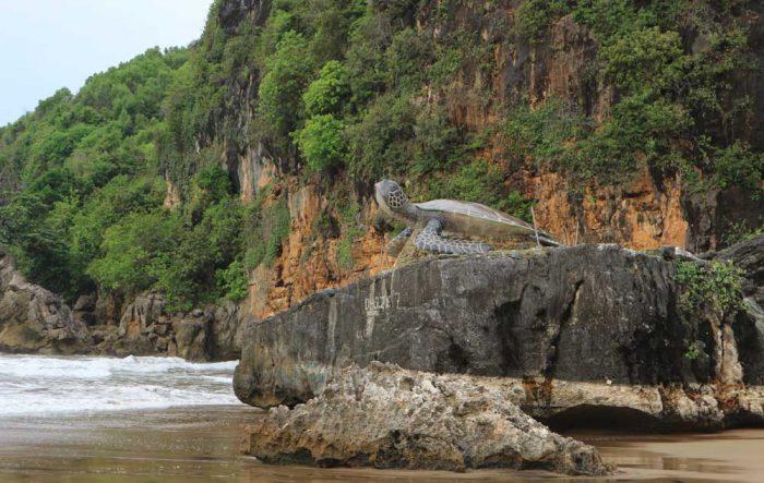 Pantai Taman Kabupaten Pacitan Daftar Indonesia Flying Fox Kab