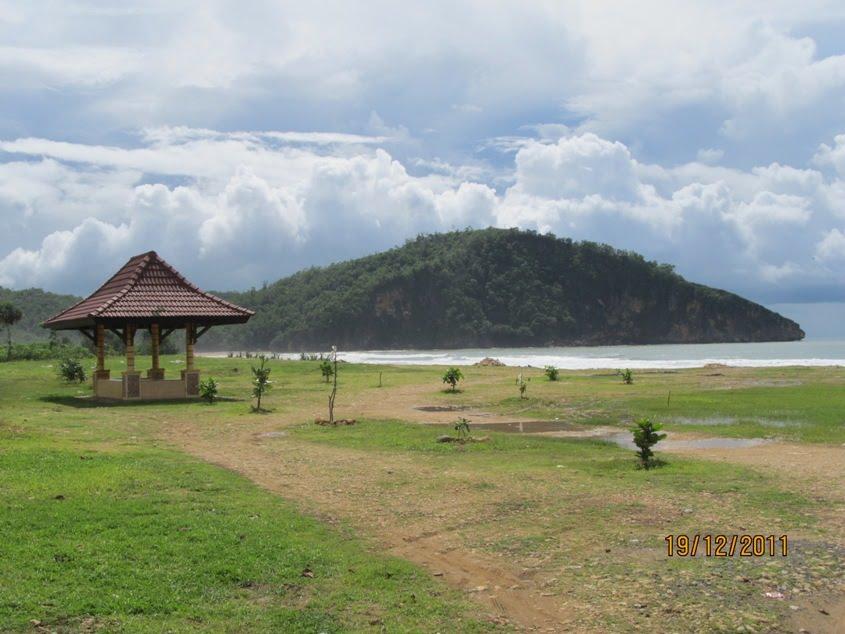 Pantai Taman Pacitan Serunya Bermain Penyu Danau Payau Pegunungan Pulau