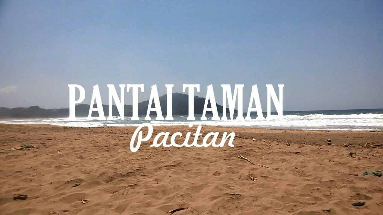 Pantai Taman Pacitan Youtube Flying Fox Kab