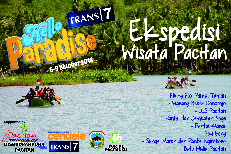 Paradise Trans 7 Gelar Syuting Sejumlah Obyek Wisata Ekspedisi Pacitan