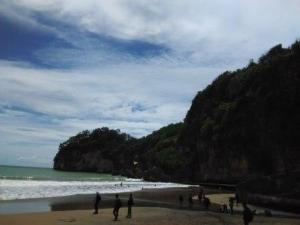 Serunya Flying Fox Pantai Taman Pacitan Oleh Nurul Aisha 1421027391425713222