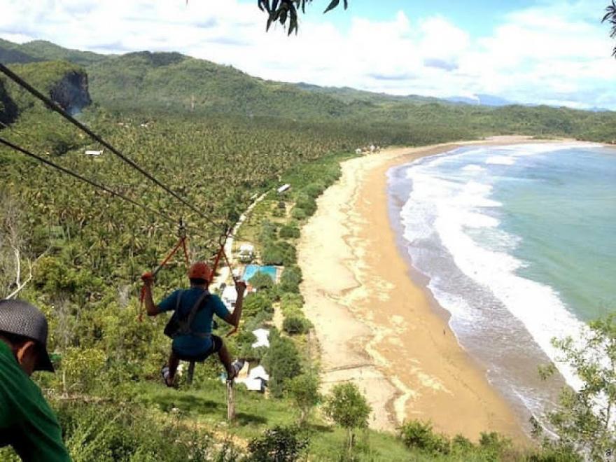 Website Desa Hadiwarno Pantai Taman Flying Fox Kab Pacitan