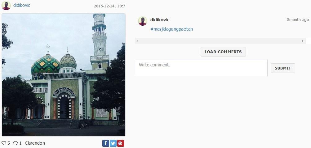 Biar Ngabuburit Jadi Berkah Yuk Berkunjung Masjid Darul Falah Pacitan