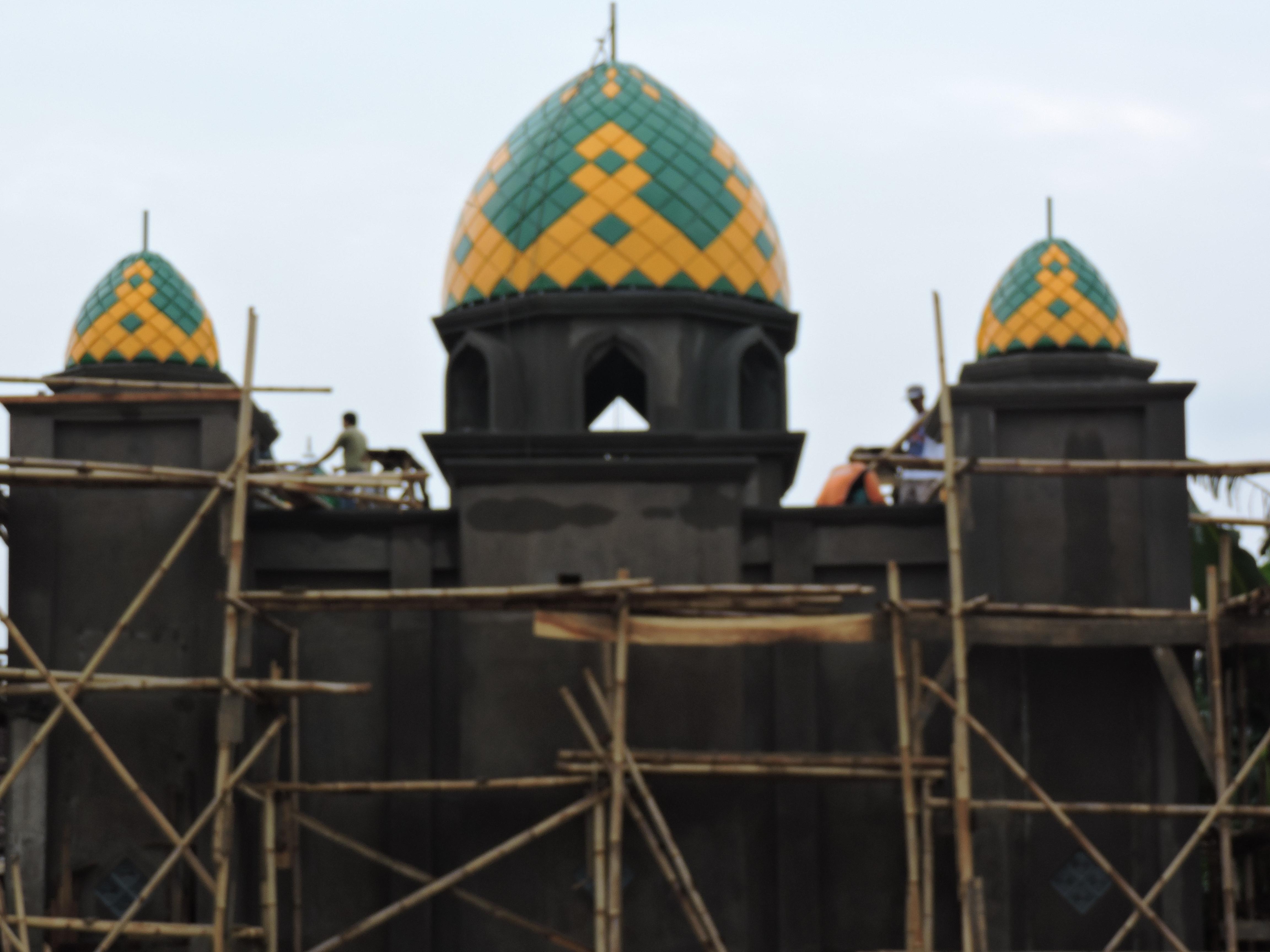 Kubah Mushola Baiturrohim Pacitan Produsen Masjid Enamel Agung Kab