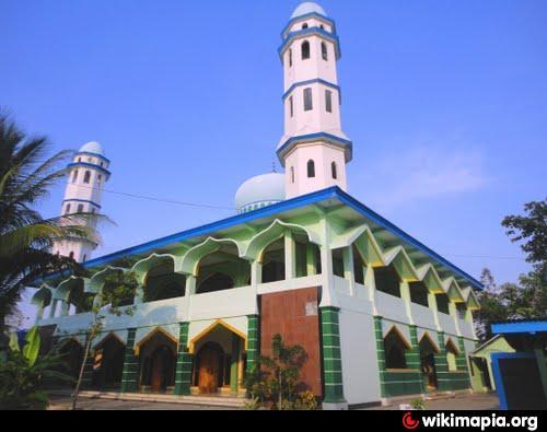 Pacitan City Photos Masjid Jami Darussalam Id Agung Kab