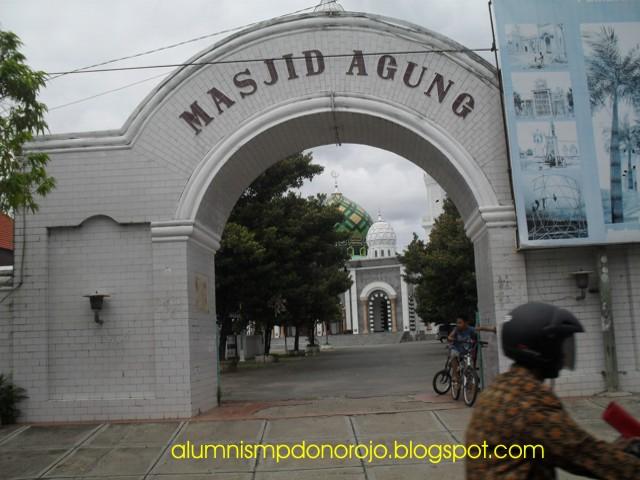 Pacitan East Java Masjid Agung Kota Kab