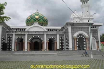 Pacitan East Java Masjid Agung Kota Tengah Tepatnya Berada Barat