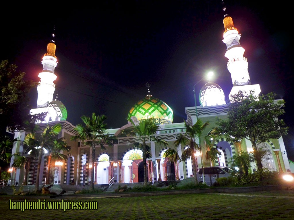 Pacitan Exploride Adventure Journey Masjid Agung Kab