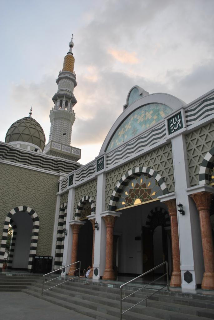 Pacitan Kota 1001 Goa Pantai Ya Pelangi Image Masjid Agung