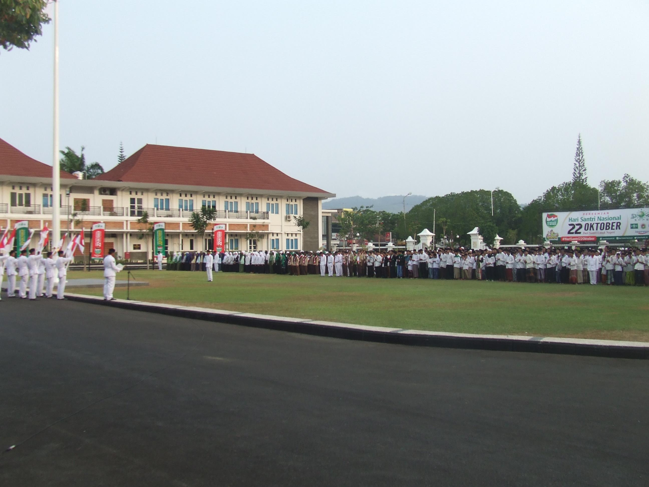 Perayaan Hari Santri Nasional Kabupaten Pacitan Mendapatkan Dscf2191 Dscf2192 Kegiatan