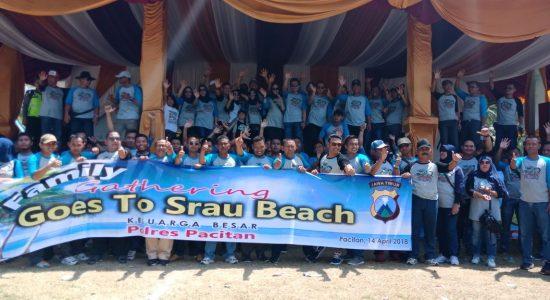 Polres Pacitan Page 3 Family Gathering Kegembiraan Pantai Srau Masjid