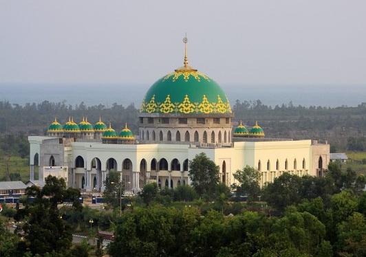 Pt Bangun Kubah Sarana Masjid Agung Darul Falah Pacitan Sangatakalimantan
