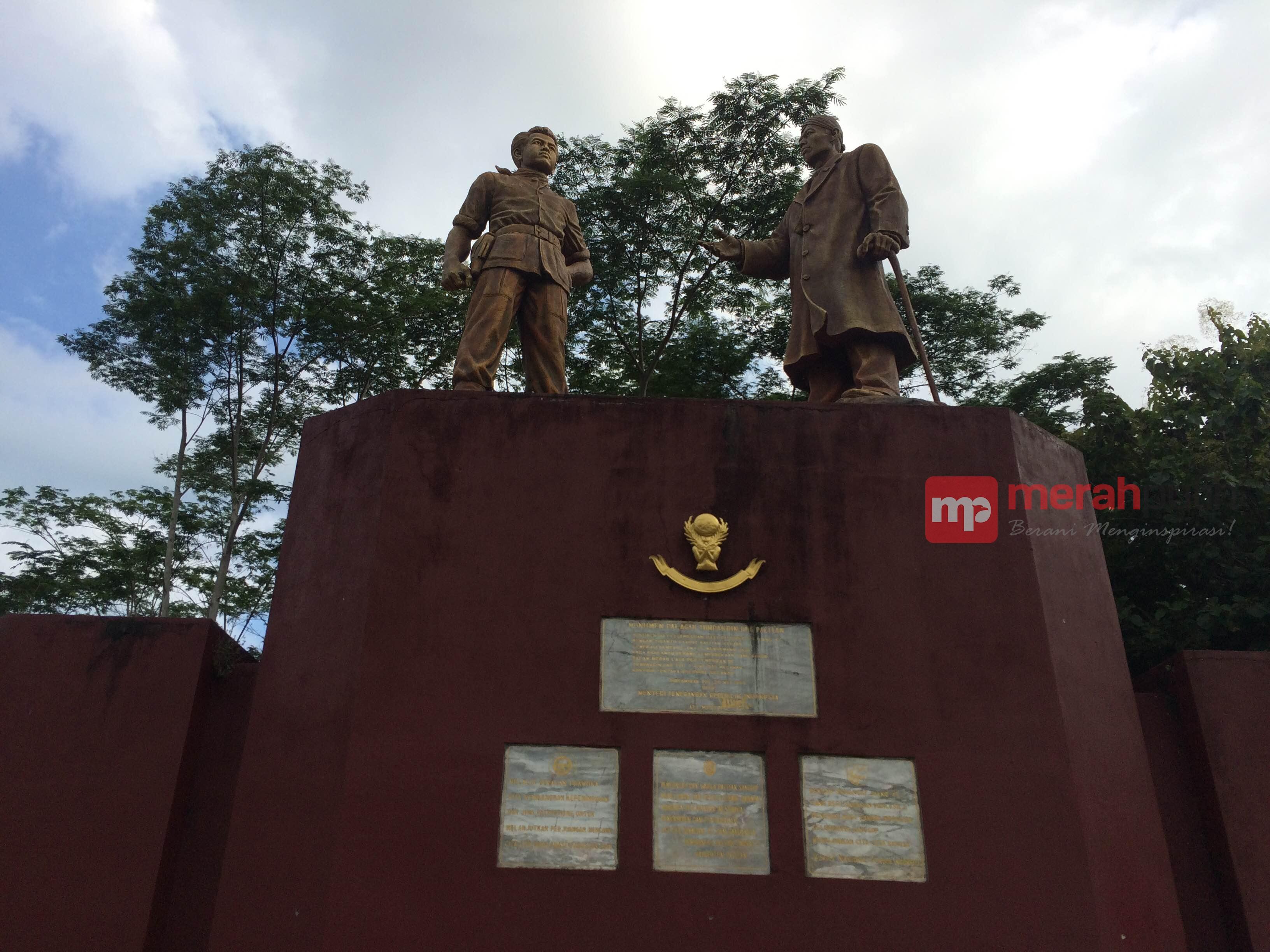 Kisah Balik Monumen Jenderal Soedirman Pacitan Merahputih Kab