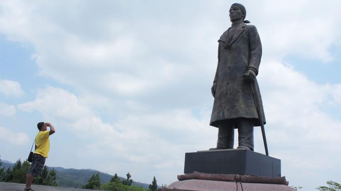Megahnya Monumen Panglima Besar Jenderal Sudirman Pacitan Kalimat Patriotik Pintu