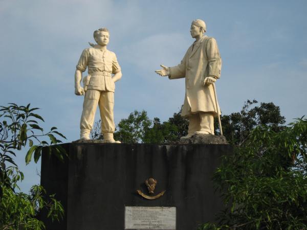 Monumen Palagan Tumpak Rinjing Pacitan Megahnya Patung Jendral Sudirman Brigjen