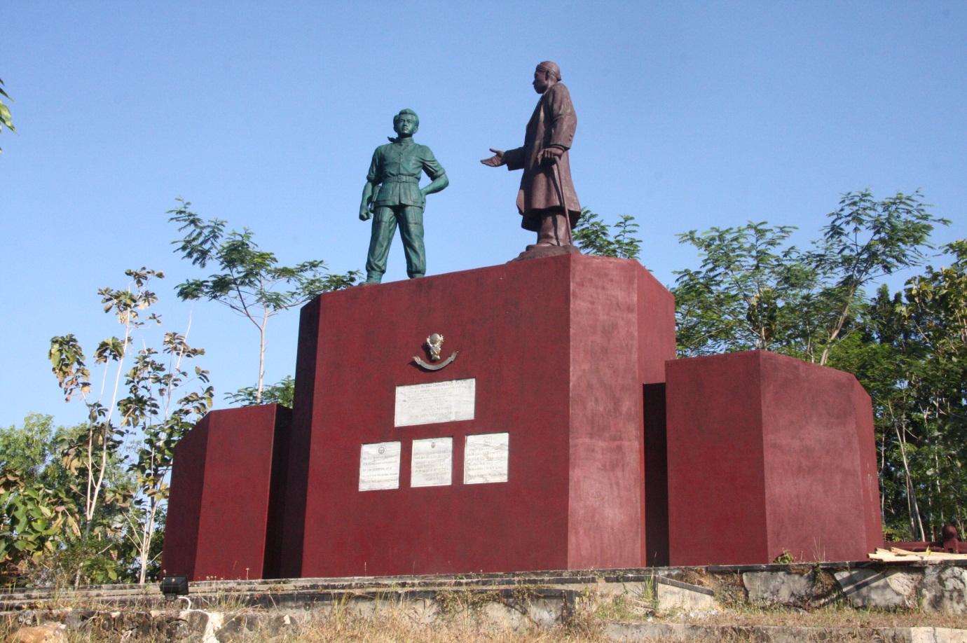 Monumen Tumpak Rinjing Jadi Ajang Mesum Pacitanku Jenderal Soedirman Kab