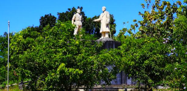 Monumen Tumpak Rinjing Kota Pacitan Bukti Perjuangan Jendral Suderman Jenderal