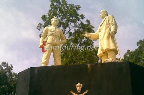 Monumen Tumpak Rinjing Pacitan Bukti Sejarah Terlupakan Patung Sudirman Jenderal