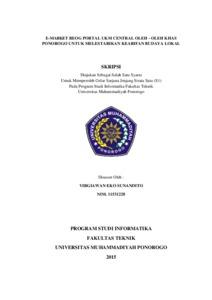 Pembuatan Film Dokumenter Monumen Jenderal Soedirman Kabupaten Pacitan Sebagai Media