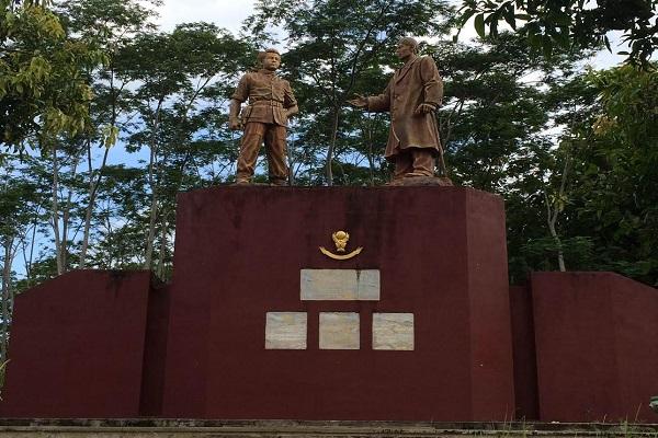 Wah Pacitan Punya Dua Monumen Jenderal Soedirman Merahputih Kab