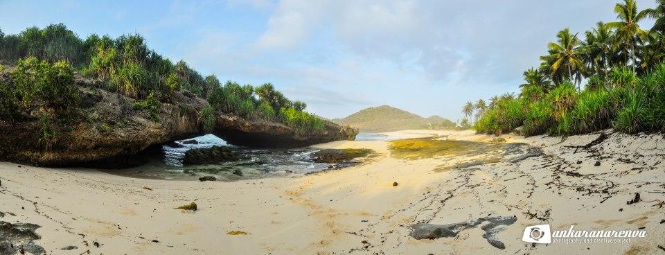 Camping Pantai Srau Ankarana Renva Salah Satu Lokasi Menarik Kab