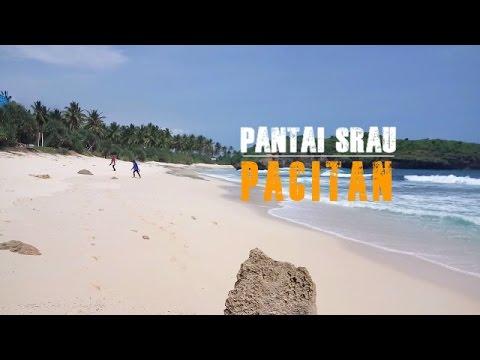 Indahnya Pemandangan Pantai Srau Pacitan Youtube Kab