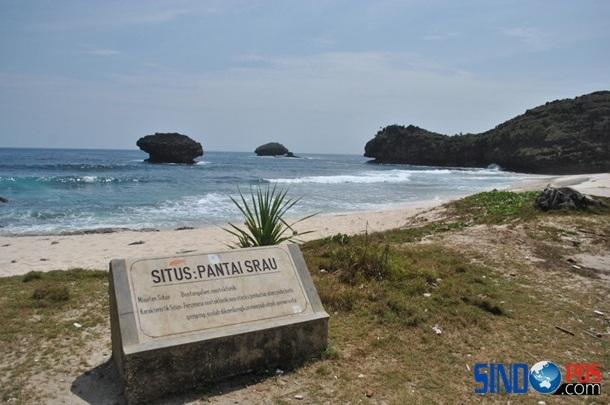 Indahnya Wisata Pantai Srau Pacitan Sindopos Citizen Kab