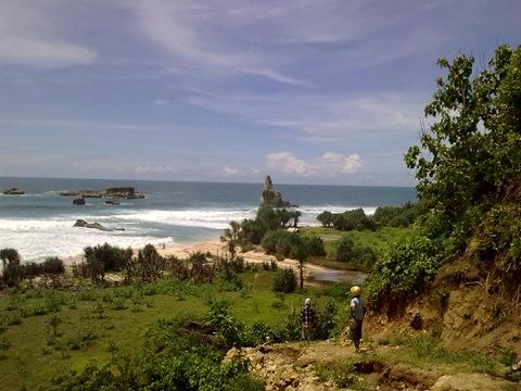 Pantai Buyutan Alfri Royadi Tidak Diragukan Kabupaten Pacitan Memiliki Indah