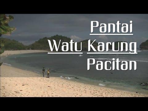 Pantai Watu Karung Pacitan Jawa Timur Youtube Srau Kab