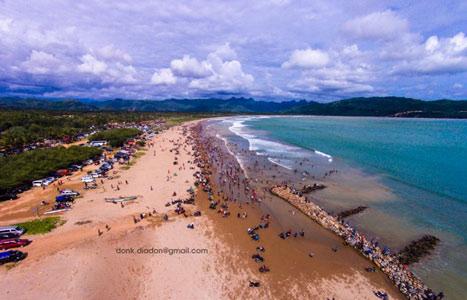Pesona Alam Pantai Teleng Ria Pacitan Trip Riaa Jawa Timur