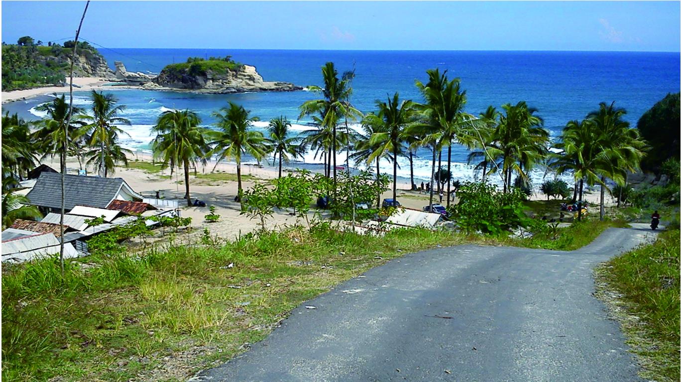 Tempat Wisata Pacitan Mempesona Informasi Hotel Jawa Timur Pantai Srau