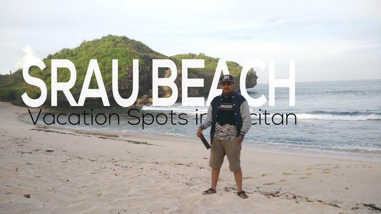 Traveling Srau Beach Pantai Pacitan East Java Indonesia Menikmati Sensasi