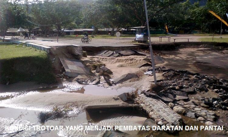 Beginilah Kondisi Pantai Teleng Ria Pacitan Pasca Banjir Longsor Berdasarkan