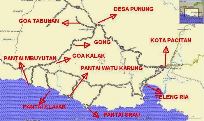 Cerita Perjalananku Wisata Pacitan Jawa Timur Kabupaten Terletak Ujung Barat